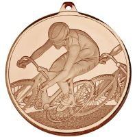 Frosted Glacier Cycling Medal  </br>AM2006.26